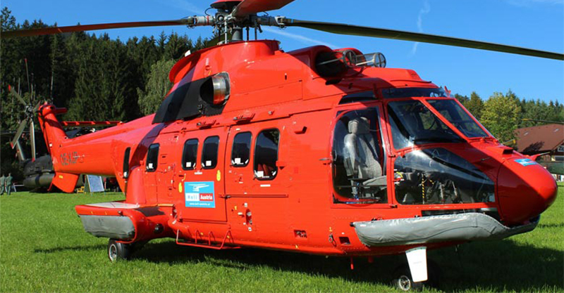 The largest helicopter of the Civil Protection: HELI Austria and Misericordie d'Italia bring the super Puma to REAS 2019