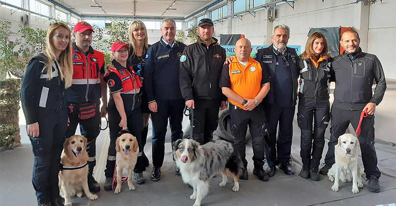 Training and solidarity: great success for the fourth edition of the Trophy Canine Unit Trophy