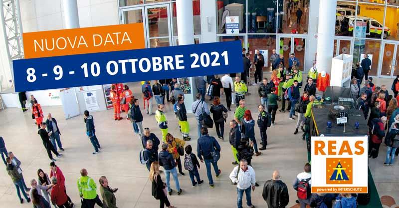 REAS: annullata l'edizione 2020. Nuovo appuntamento dall'8 al 10 ottobre 2021