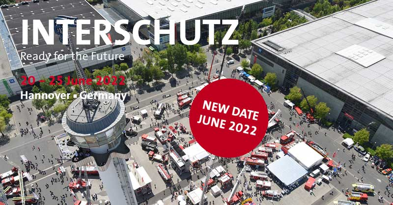 New date for INTERSCHUTZ: June 2022